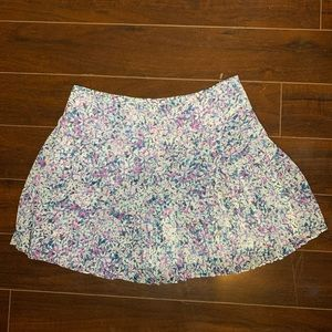 Banana Republic Floral Pleated Skirt 💐